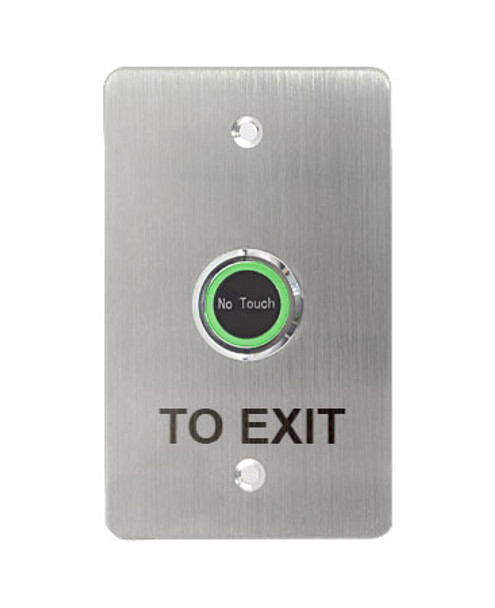 Contactless Touchless Push To Exit Large