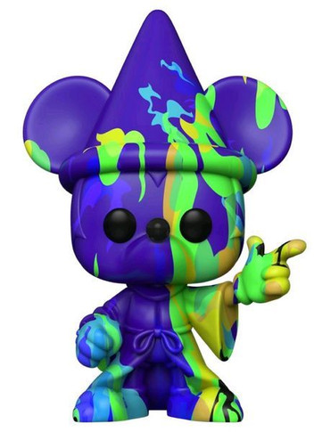 Mickey Mouse - Sorcerer Mickey (Artist) #2 with Protector Pop! Vinyl