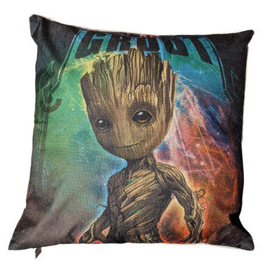 Guardians Of The Galaxy - Groot Standing (Canvas 45x45cm) Cushion