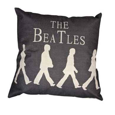 Beatles - Abbey Road Canvas Style 45x45cm Cushion