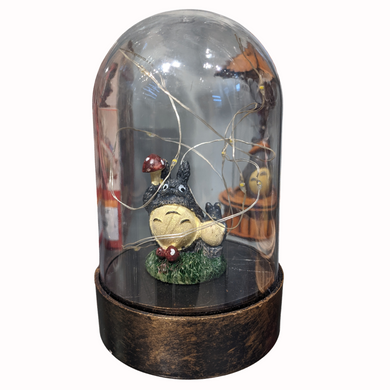 My Neighbor Totoro - Totoro in 9cm Glass Dome with Light Figure