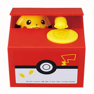 Pokemon - Pikachu Coin Grab Money Box Money Bank