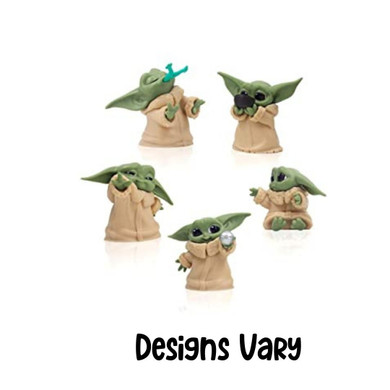 Star Wars: The Mandalorian - Baby Yoda (The Child) 5cm (Set of 6) Figure