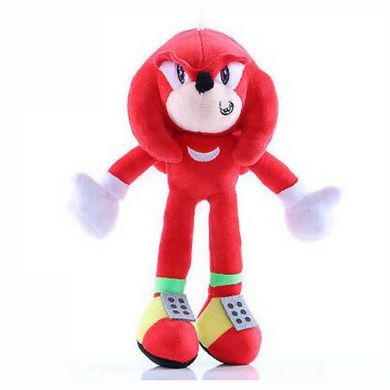 Sonic The Hedgehog - Red Knuckles 25cm Plush Toy