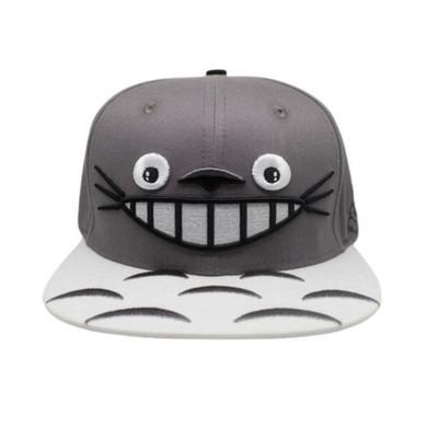 My Neighbor Totoro - Totoro Face White Brim Cap