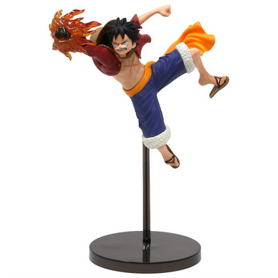 One Piece - Luffy with Red Energy Ball Figure