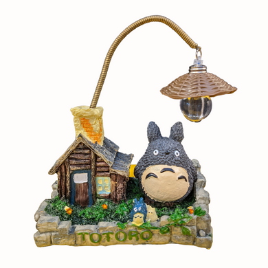 My Neighbor Totoro - Totoro House Yellow Chimney with Light Figure