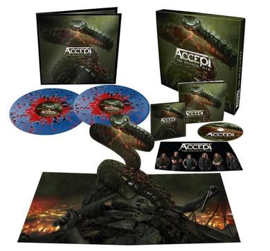 Accept - Too Mean To Die 2LP Blue & Red Splatter CD + Vinyl