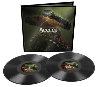 Accept - Too Mean To Die 2LP Vinyl