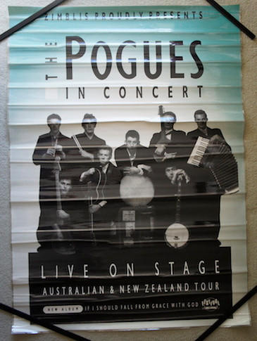Pogues - 1990? If I Should Fall From Grace Collectable Poster