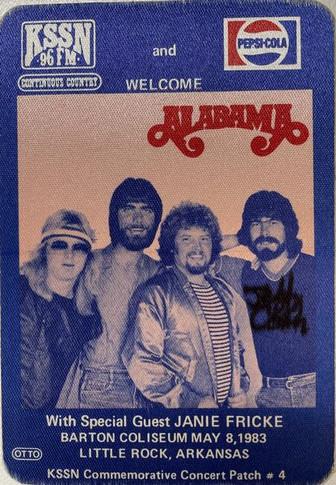 Alabama - 1983 Promo Patch
