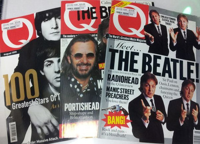 Q Magazine - Various Beatles Related Issues Magazines