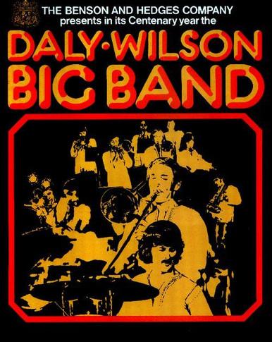 Daly Wilson Big Band - 1973 Benson Hedges Present Original Concert Tour Program