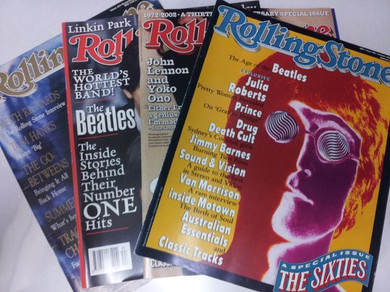 Rolling Stone Magazine - Various Beatles Related Issues Magazines