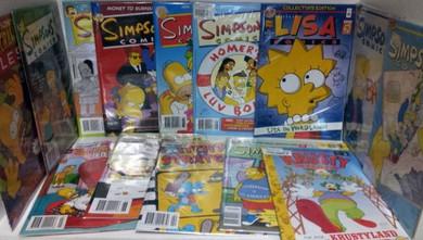 Simpsons - Various Comic Books