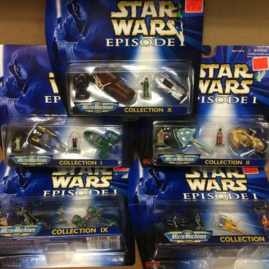 Star Wars: The Phantom Menace - Micro Machine Collections Assorted Collectable Figures