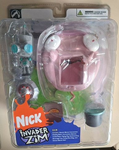 Invader Zim - Gir Ride The Pig Series 1 Collectable Figure