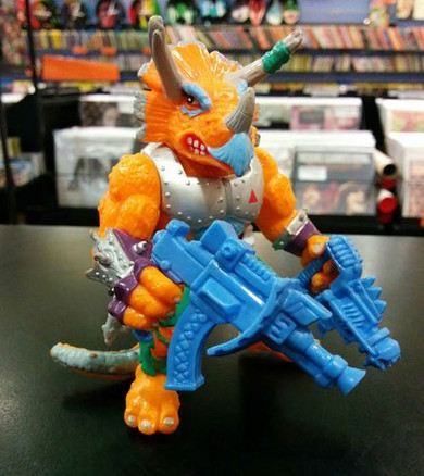 Teenage Mutant Ninja Turtles - Triceraton 4.5 Inch Collectable Figure
