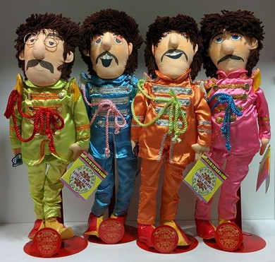 Beatles - Applause Dolls Sgt Peppers 22 Inch Set Of Collectable Plush Figures