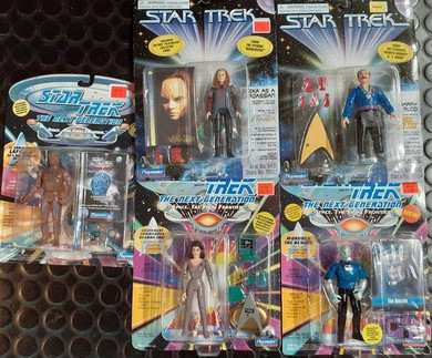 Star Trek - 1990s 13cm Assorted Boxed Collectable Figures