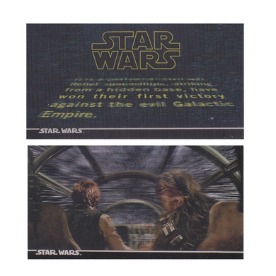 Star Wars - 1996 Topps Star Wars 3DI Widevision Trading Cards