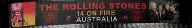 Rolling Stones - 2014 Australian 18x130cm Official Tour Scarf