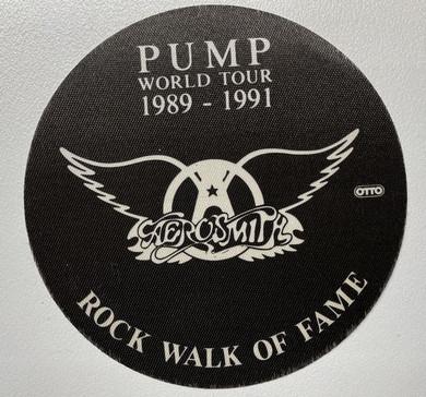 Aerosmith - Pump World Tour (1989-1991) Backstage Pass