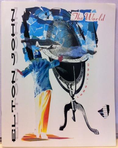Elton John - 1989/90 The World (VG++) Original Concert Tour Program