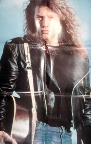 Bon Jovi - 1990s Folded Poster #1 Magazine Insert