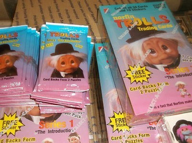 Trolls - Sealed Pack 1992 Trading Cards