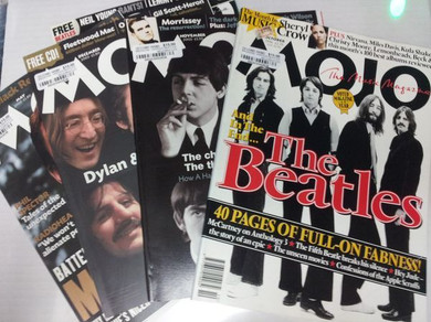 Mojo Magazine - Various Beatles Related Issues 1990s-2010s Magazines