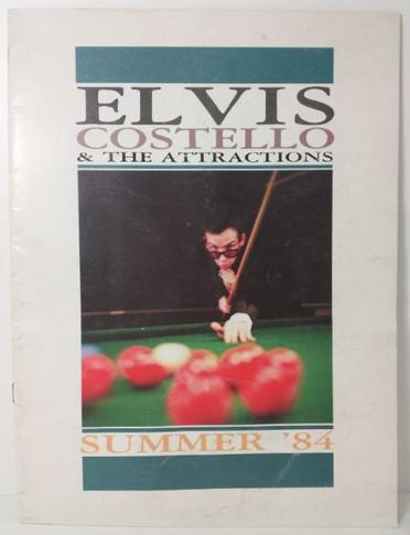Elvis Costello - 1984 Summer Original Concert Tour Program