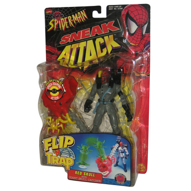 Spider-Man - Red Skull Sneak Attack Flip N' Trap Collectable Figure