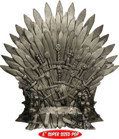 Game of Thrones - Iron Throne 6 Inch Nycc Limited Edition Super Sized Pop! Vinyl Collectable