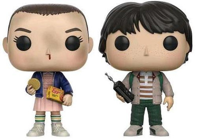 Stranger Things - Eleven & Mike Fye Us Exclusive 2-Pack Pop! Vinyl Collectable