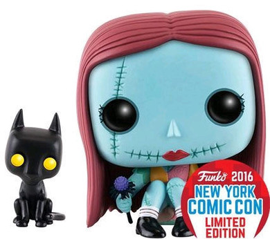 Nightmare Before Christmas - Sally Seated NYCC 2016 Pop! Vinyl Collectable