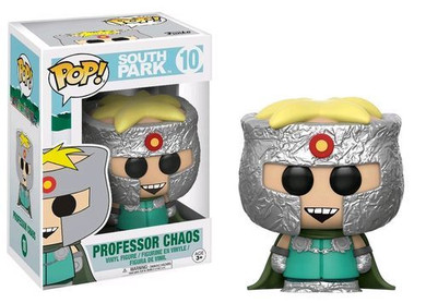 South Park - Professor Chaos Pop! Vinyl Collectable Used