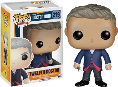 Doctor Who - 12th Doctor (Peter Capaldi) Pop! Vinyl Collectable Used