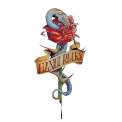 Hanoi Rocks - 1989 Michael Monro X-Large Vintage Tour T-Shirt