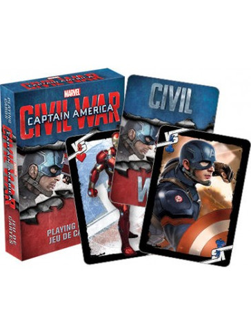 Captain America - Civil War Playing Cards