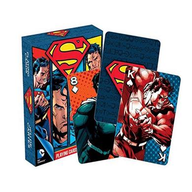 Superman - Comic Superman Playing Cards