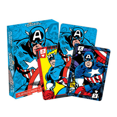 Captain America - Playing Cards
