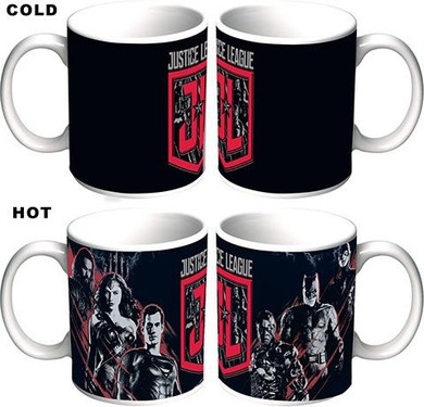 Justice League - Heat Change Mug