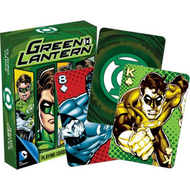 Green Lantern - DC Comics Playing Cards
