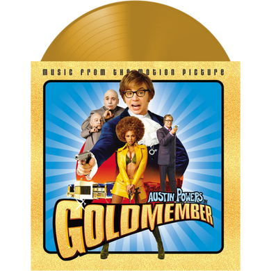Soundtrack - Austin Powers in Goldmember RSD2020 Gold Coloured Vinyl (Used)