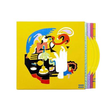 Mac Miller - Faces Yellow Coloured 3LP Vinyl