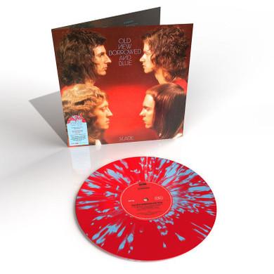 Slade - Old New Borrowed & Blue (Red/Blue Splatter) Vinyl