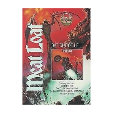 Meatloaf - Bat Out Of Hell DVD (secondhand)