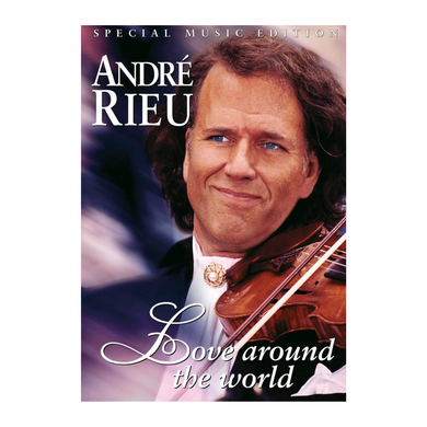 Andre Rieu - Love around the world DVD & CD  (New)