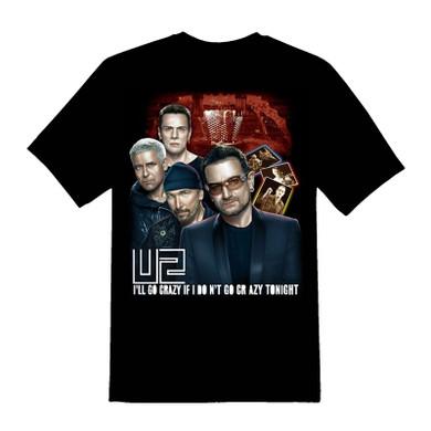 U2 - I'll Go Crazy T-Shirt